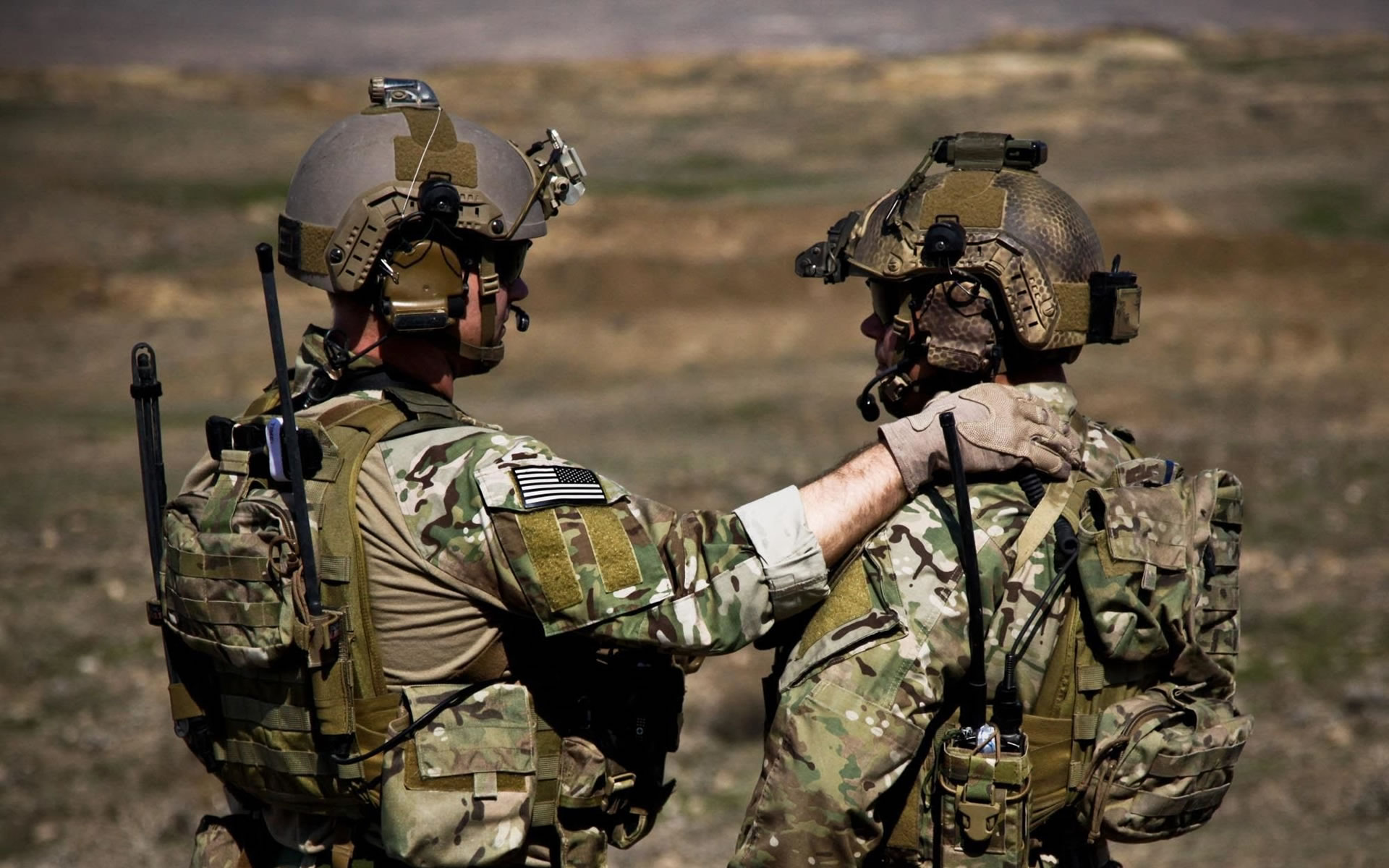 Army Ranger Buddies 2156   Military Wallpapers 1920x1200