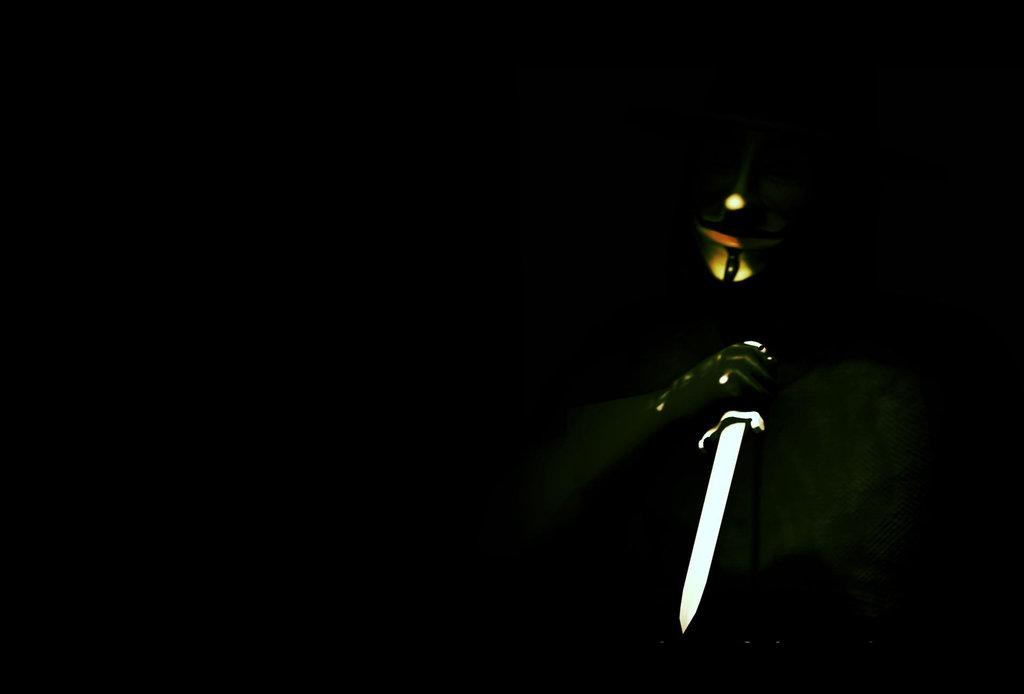 Guy Fawkes Mask Wallpa...V For Vendetta Mask Wallpaper