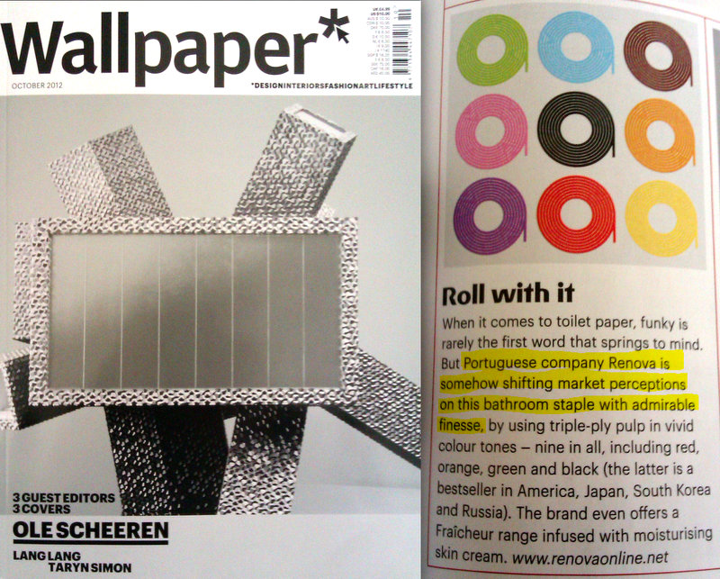 Renova in Wallpaper Magazine 800x643
