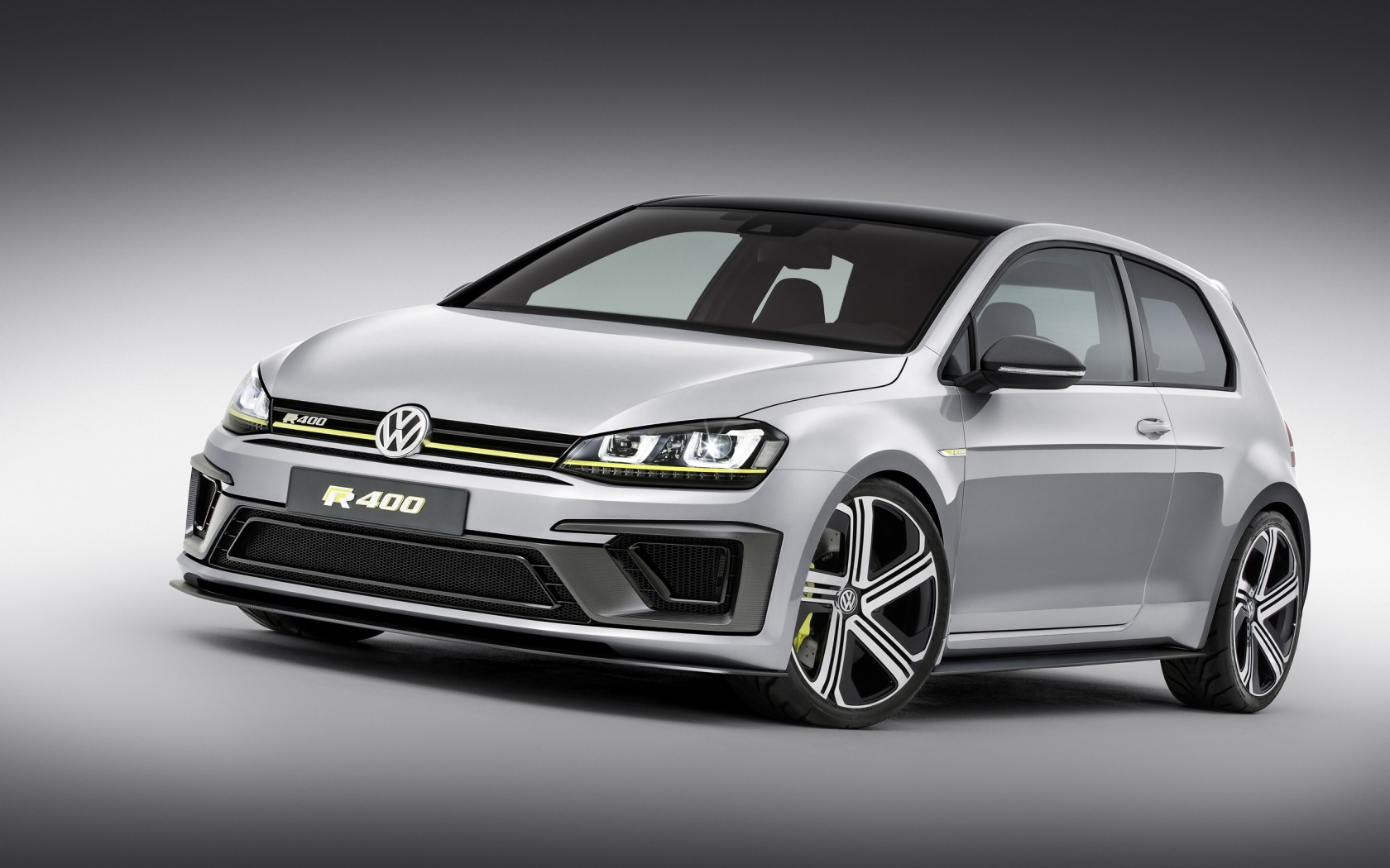 2014 Volkswagen Golf R 400 Wallpaper HD Car Wallpapers 1680x1050