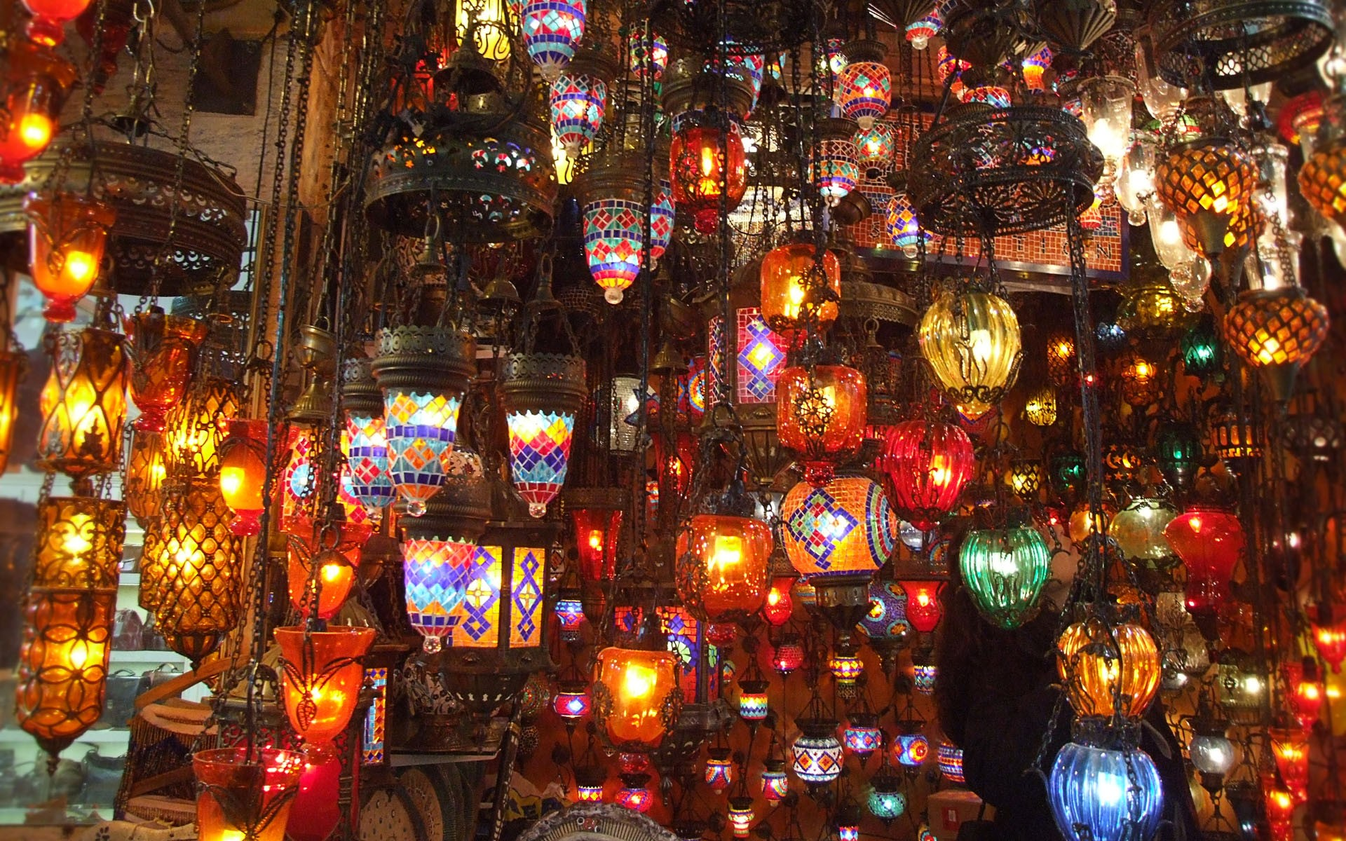 House of Lanterns Wallpapers House