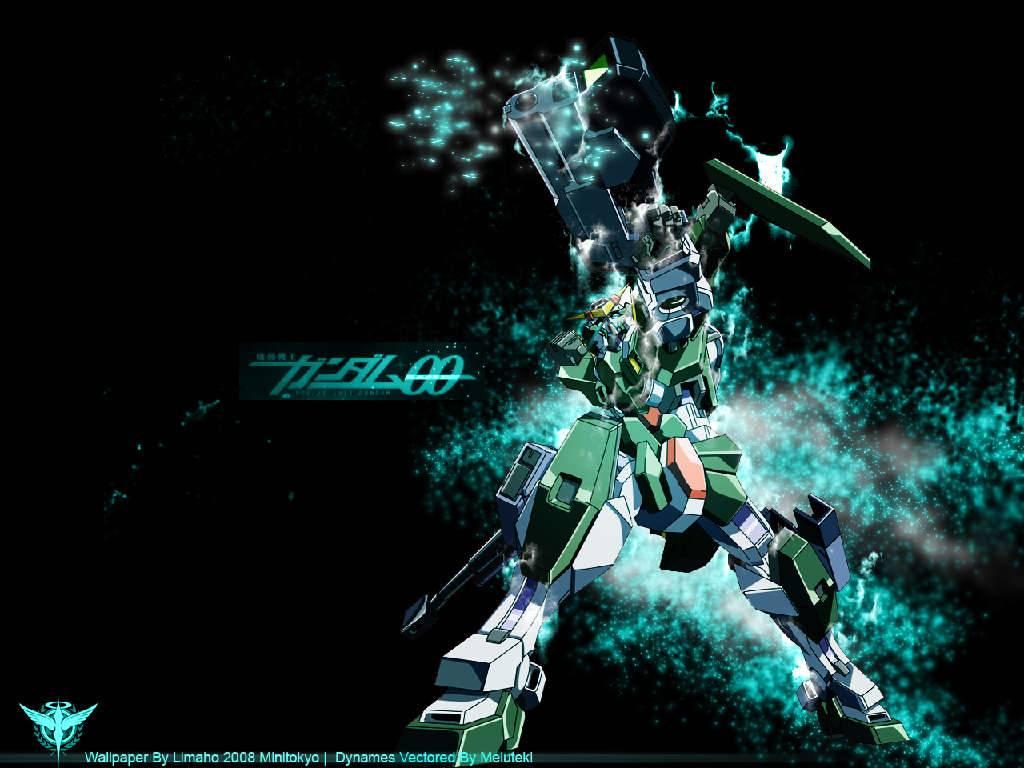 dynames trans am   Gundam 00 Wallpaper 1024x768