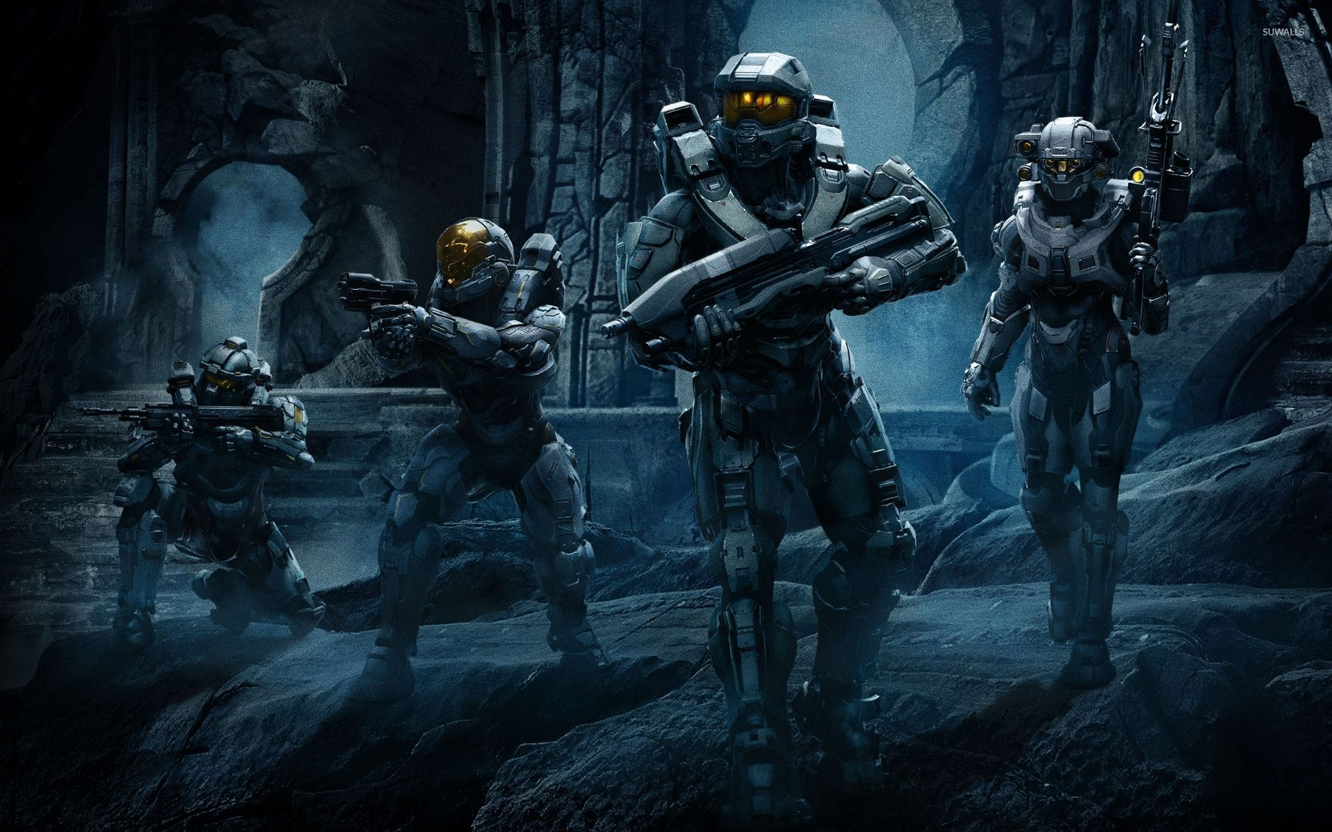 Halo 5 Guardians wallpaper   Game wallpapers   46160 1366x768