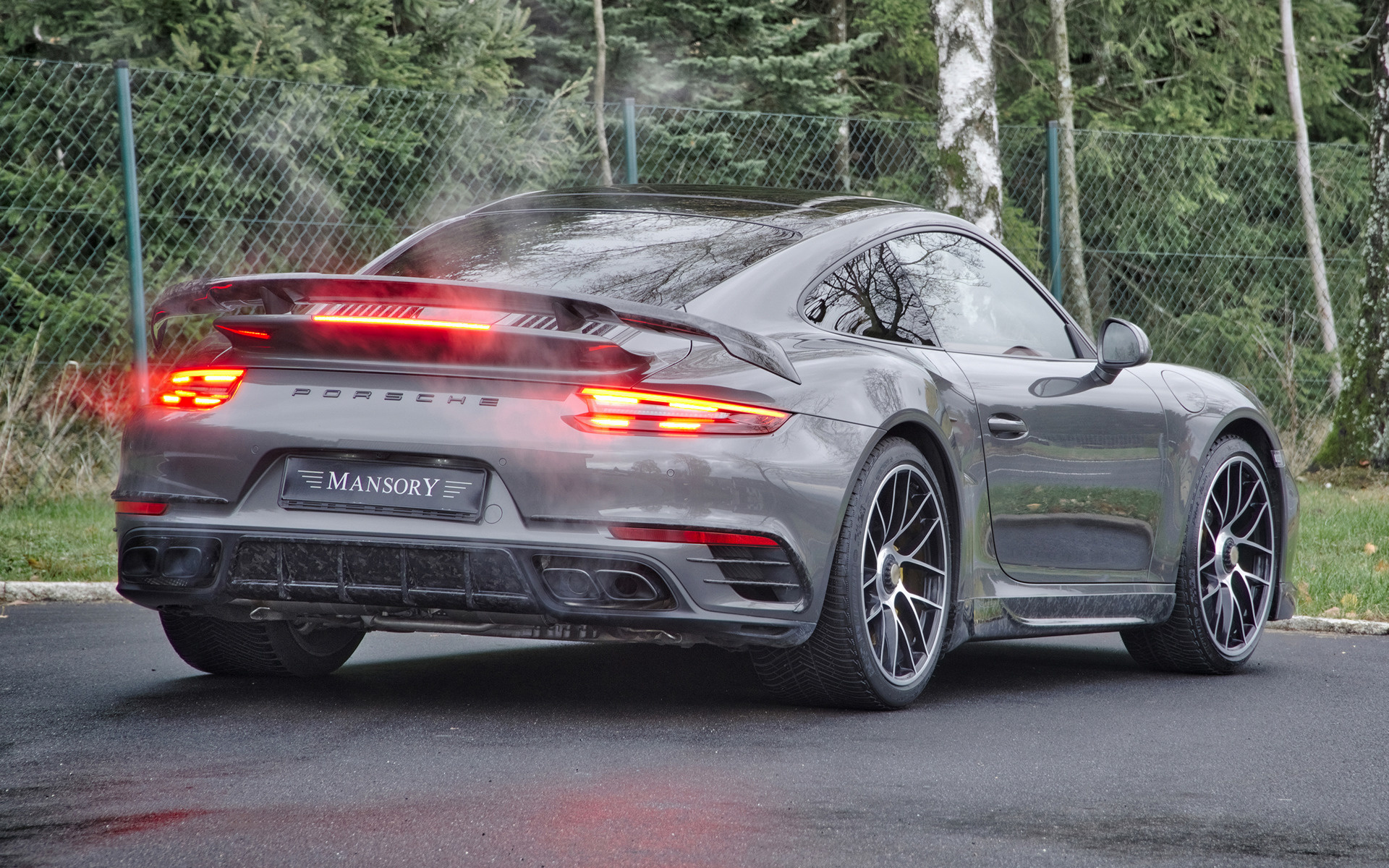 Free Download 2018 Porsche 911 Turbo S By Mansory Wallpapers And