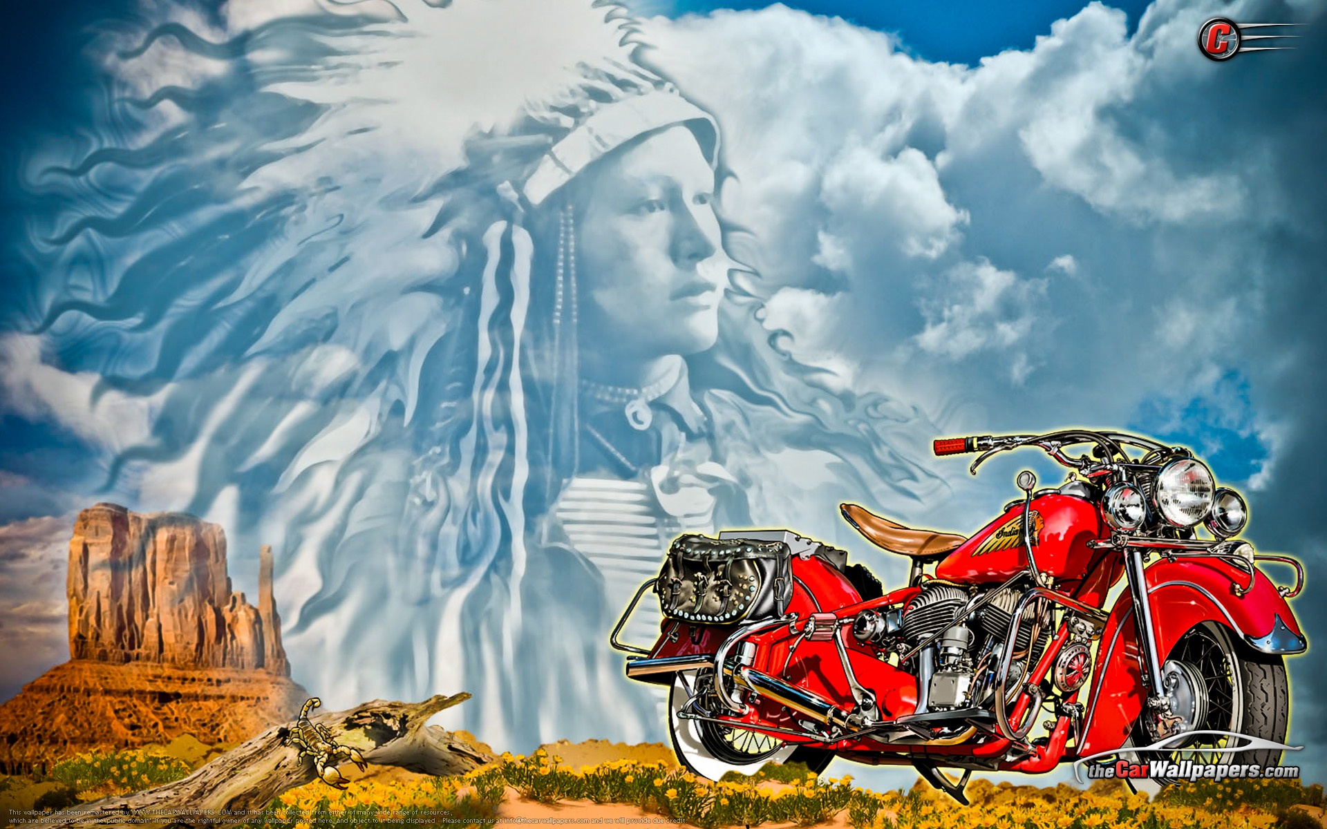 48 Motorcycle Art Wallpaper On Wallpapersafari