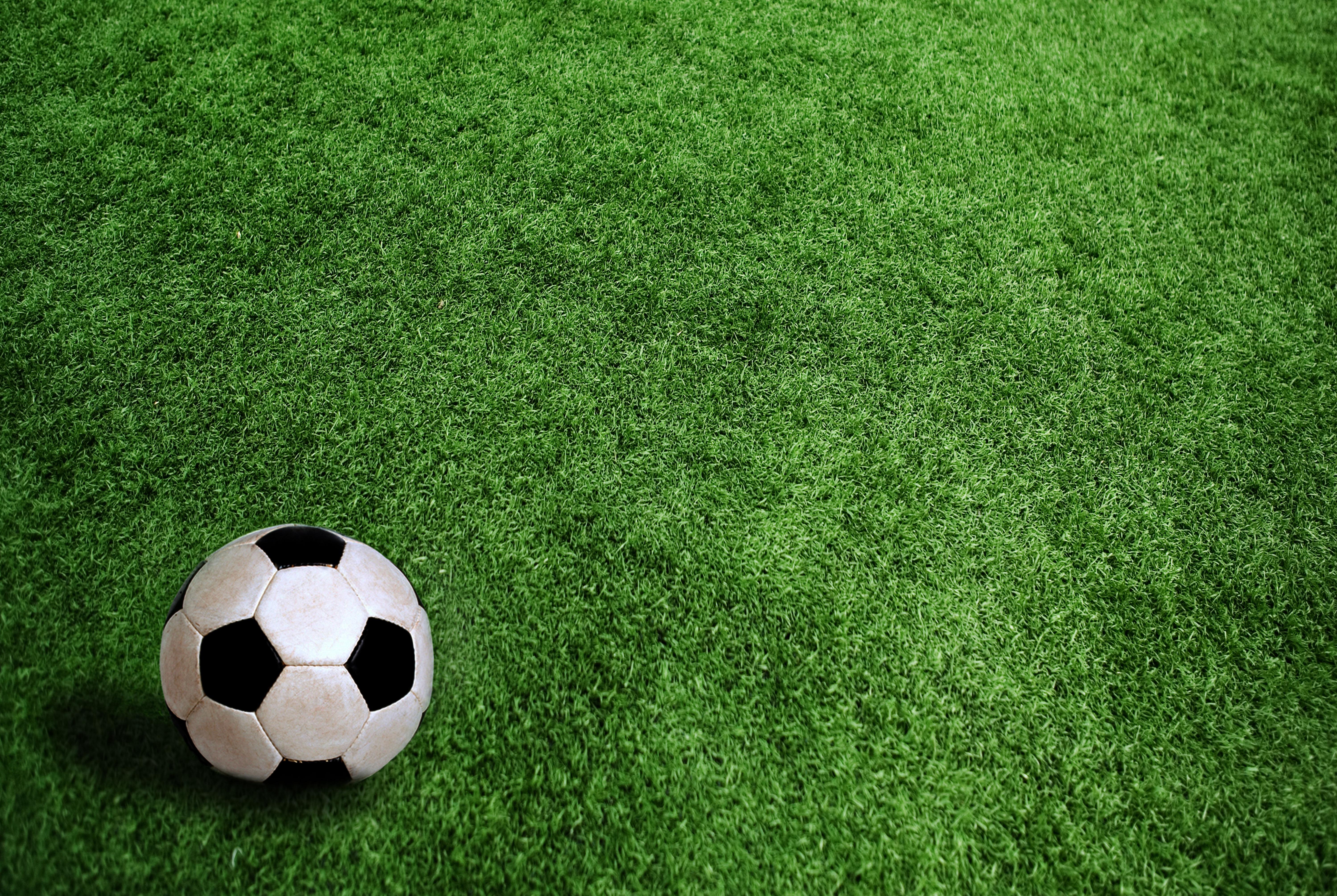 Herbe terrain ballon de soccer Wallpaper   ForWallpapercom 5996x4019