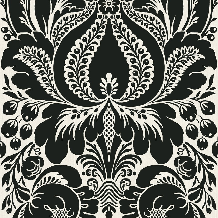 Black White Strippable Non Woven Prepasted Wallpaper Lowes Canada 900x900