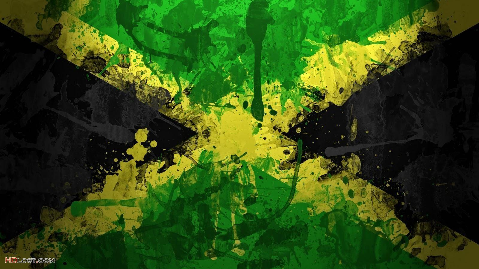 Jamaica Boom Jamaica flag Jamaican flag Jamaica 1600x900