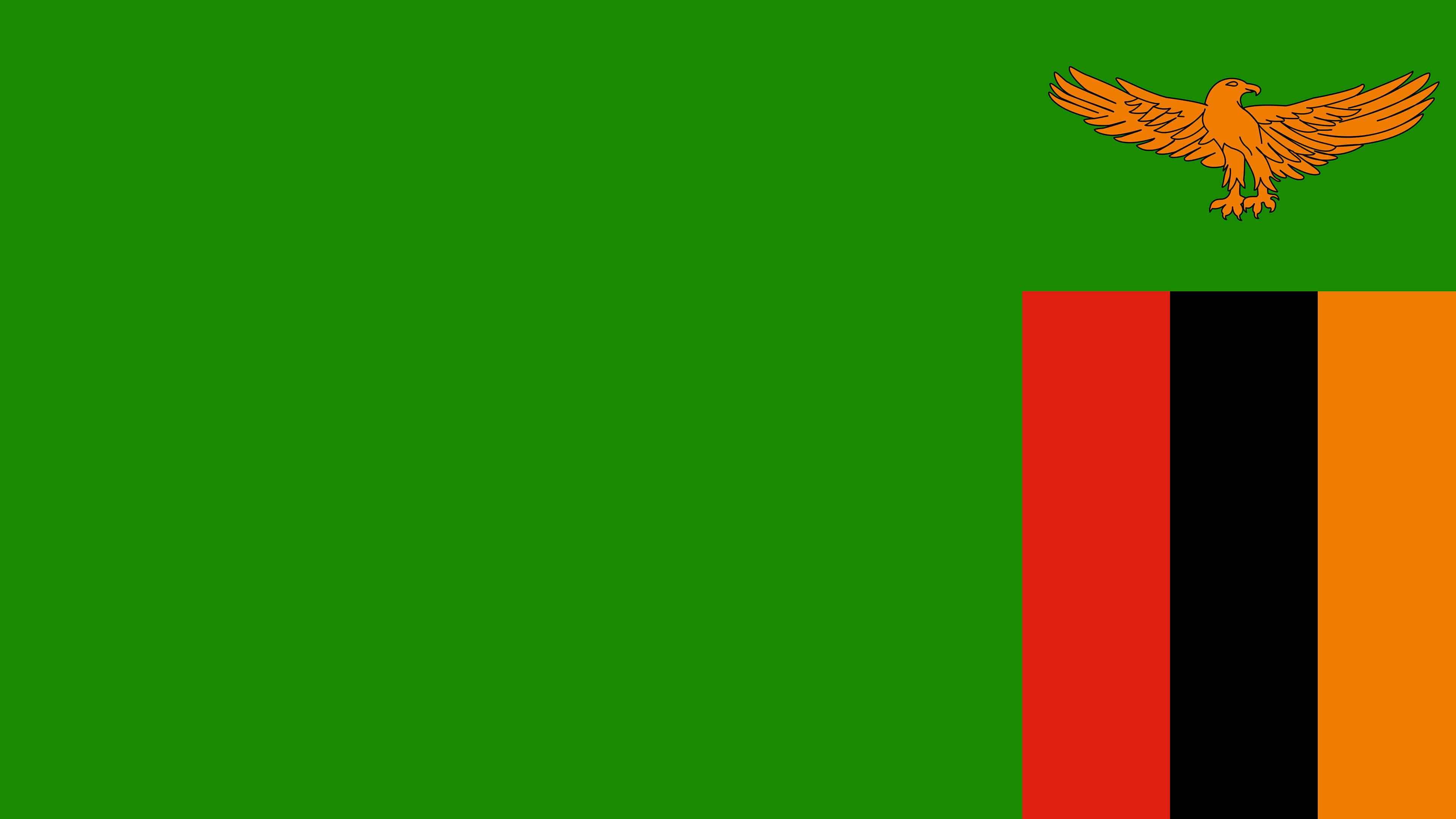 Zambia Flag UHD 4K Wallpaper Pixelz 3840x2160