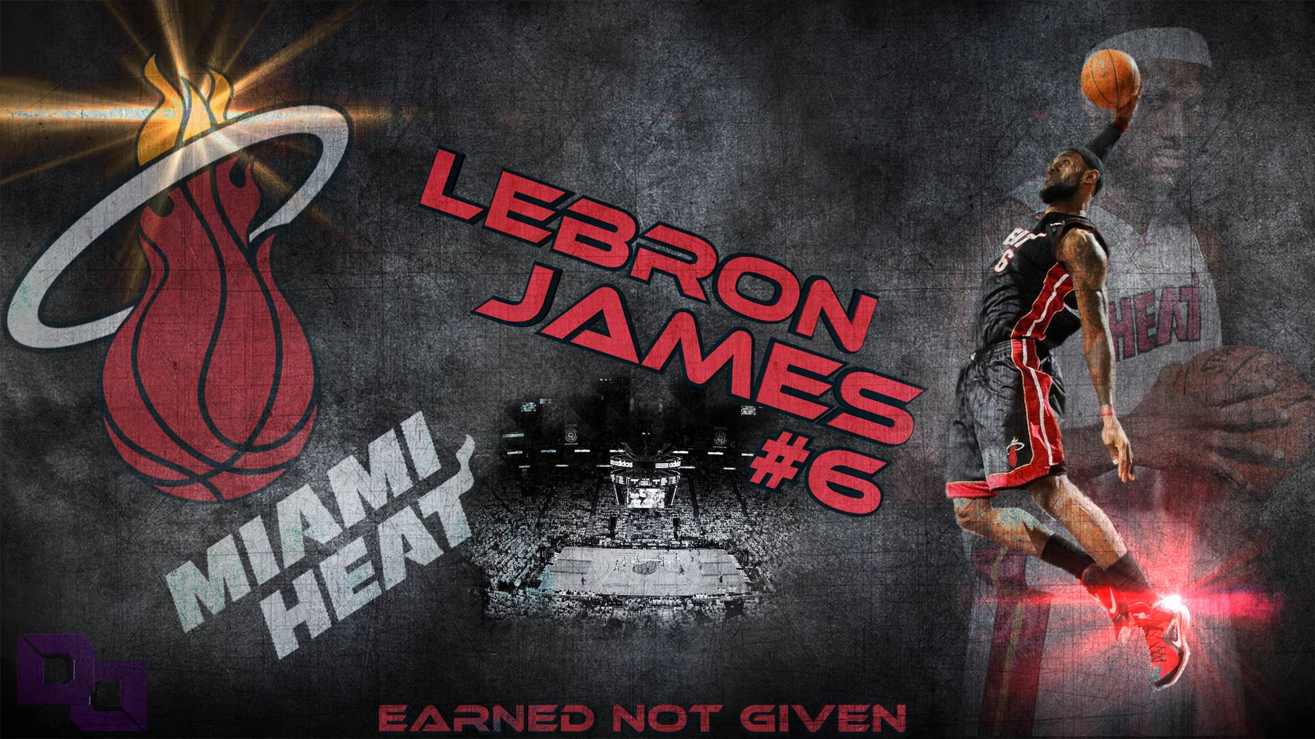 Lebron James Dunking Wallpapers 1920x1080