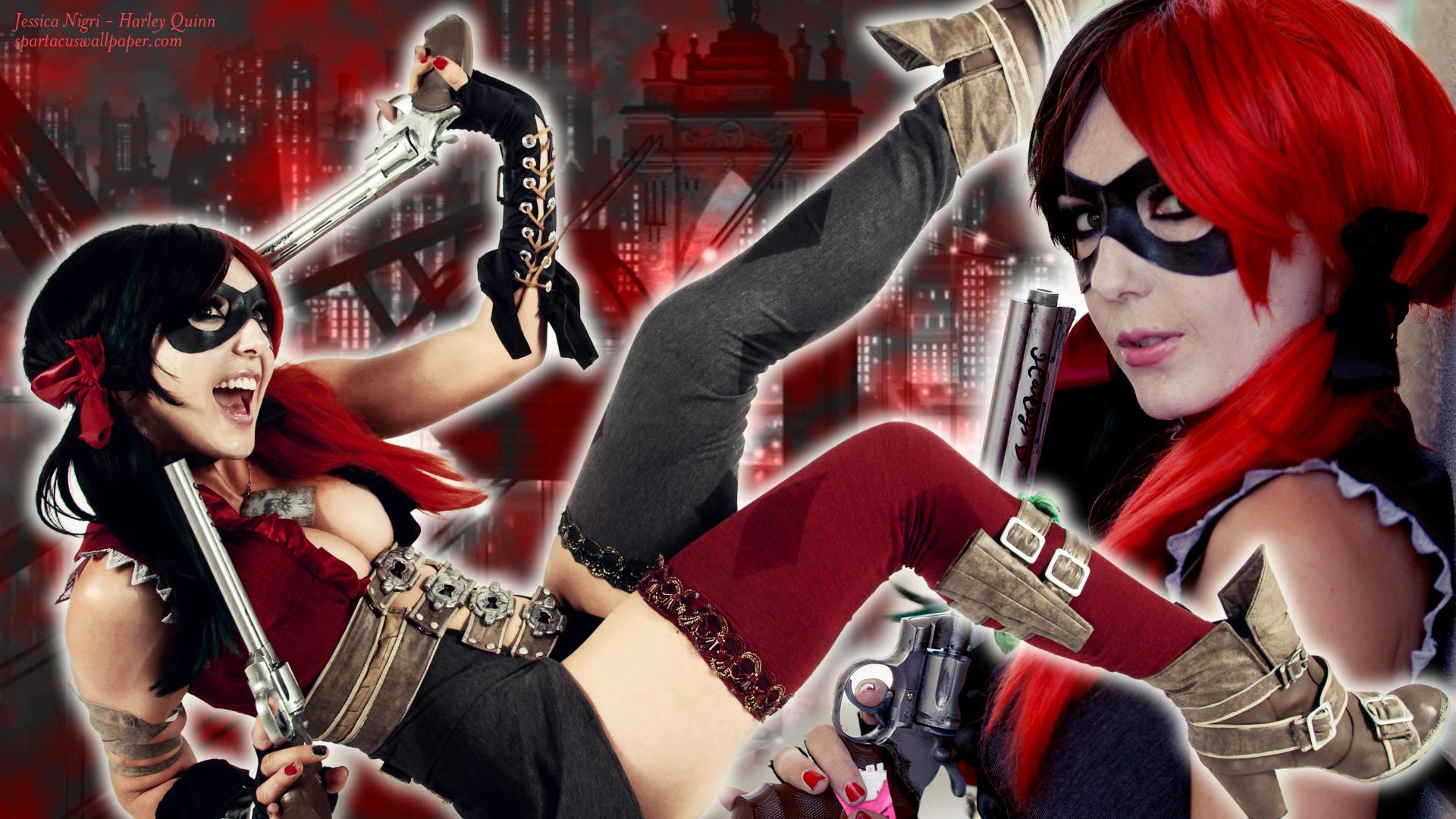 Jessica Nigri Harley Quinn Wallpapers Wallpapersafari