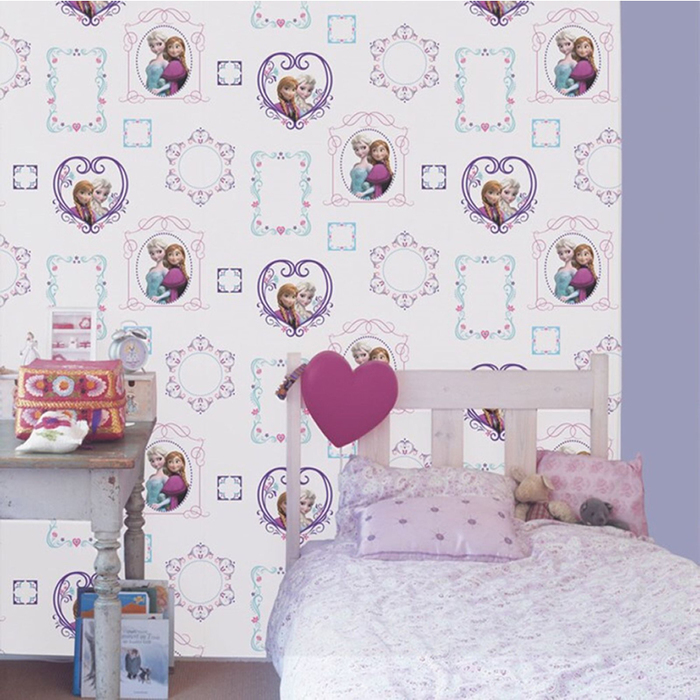 Rooms Disney Frozen Disney Frozen Bedroom Wallpaper   Frames 700x700