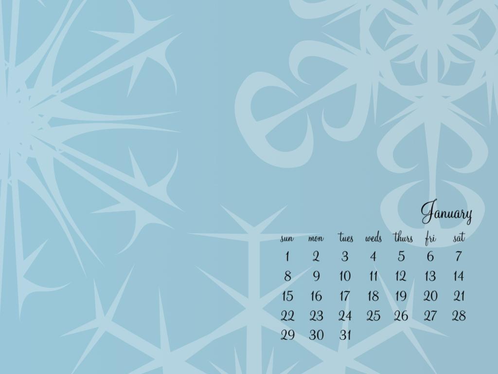 January 2012 Desktop Wallpaper   Makoodle 1024x768
