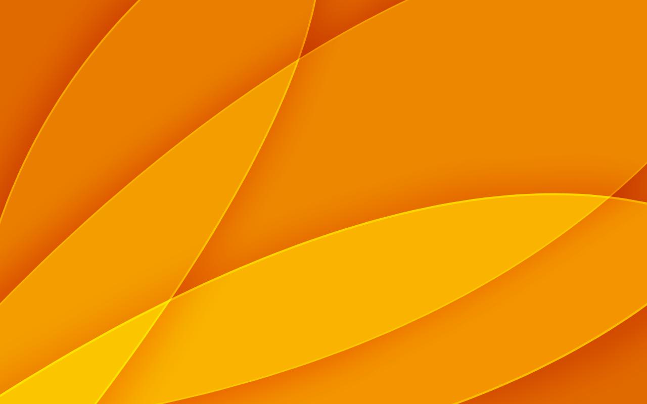 Orange Wallpaper Background 1280x800