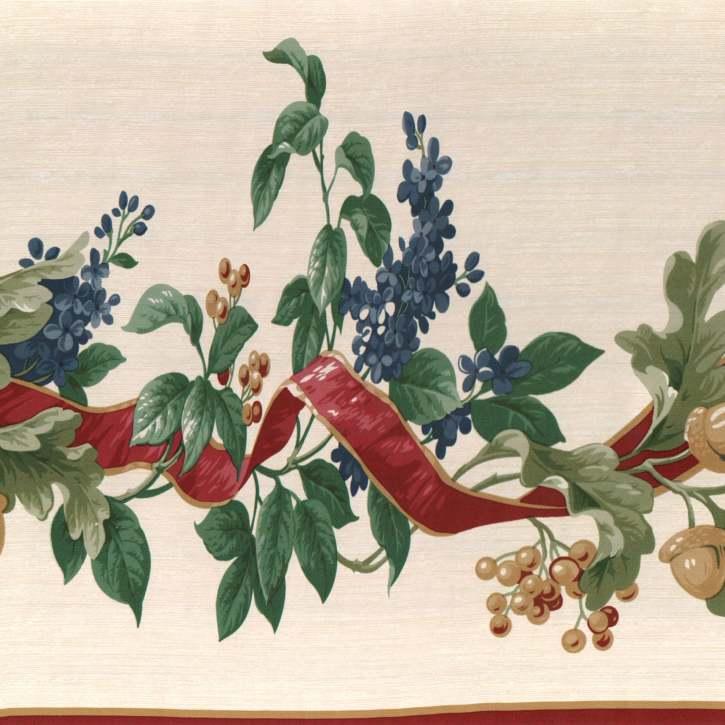 Myrt Primitives Vintage Floral Wallpaper Border [gmp 778]   1299 725x725