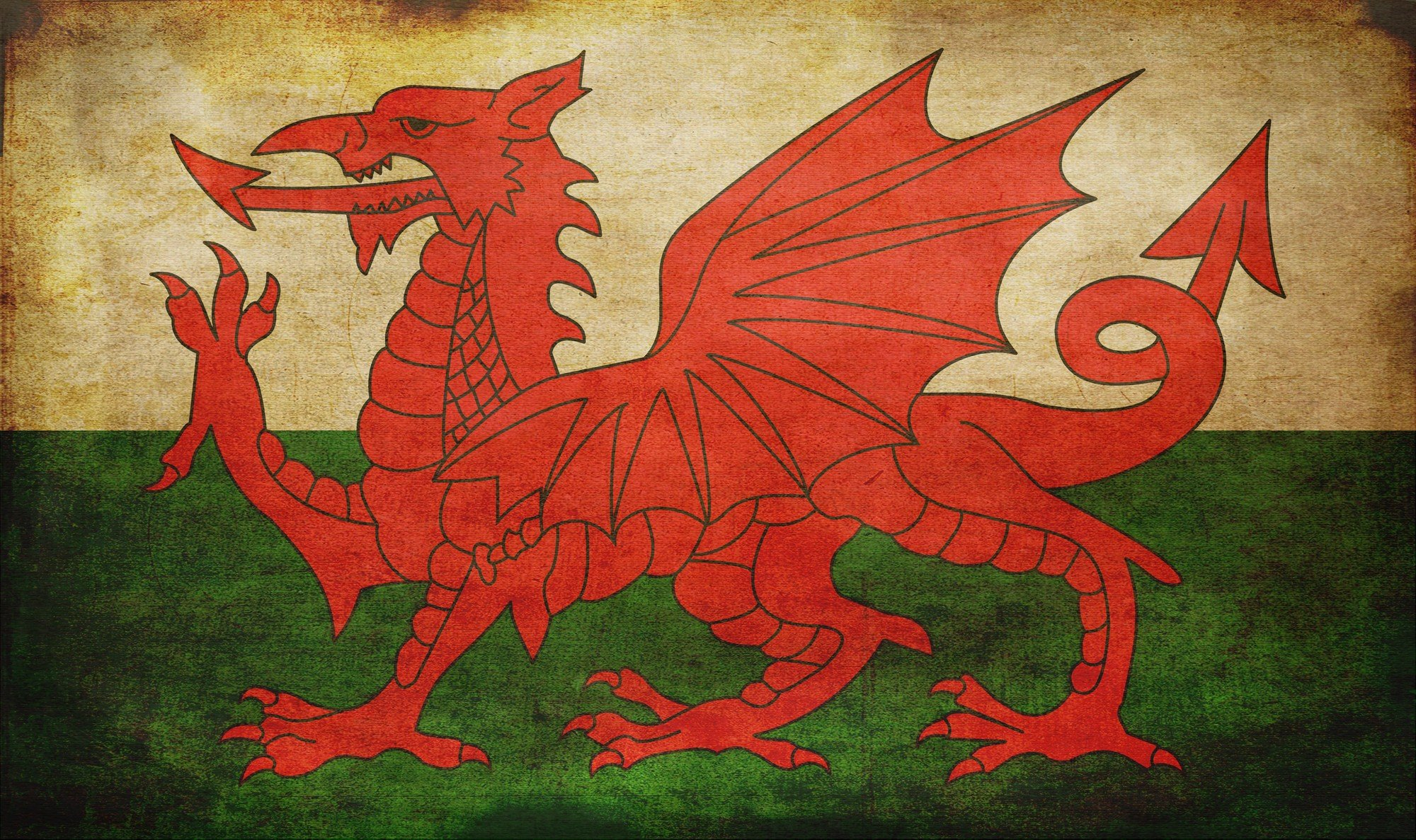 5 Flag Of Wales HD Wallpapers Background Images 2000x1187