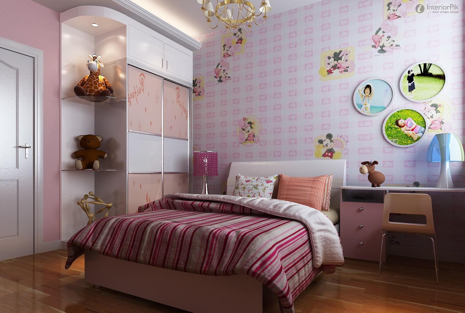 bedroom decoration pictures childrens bedroom wallpaper decoration 1600x1079