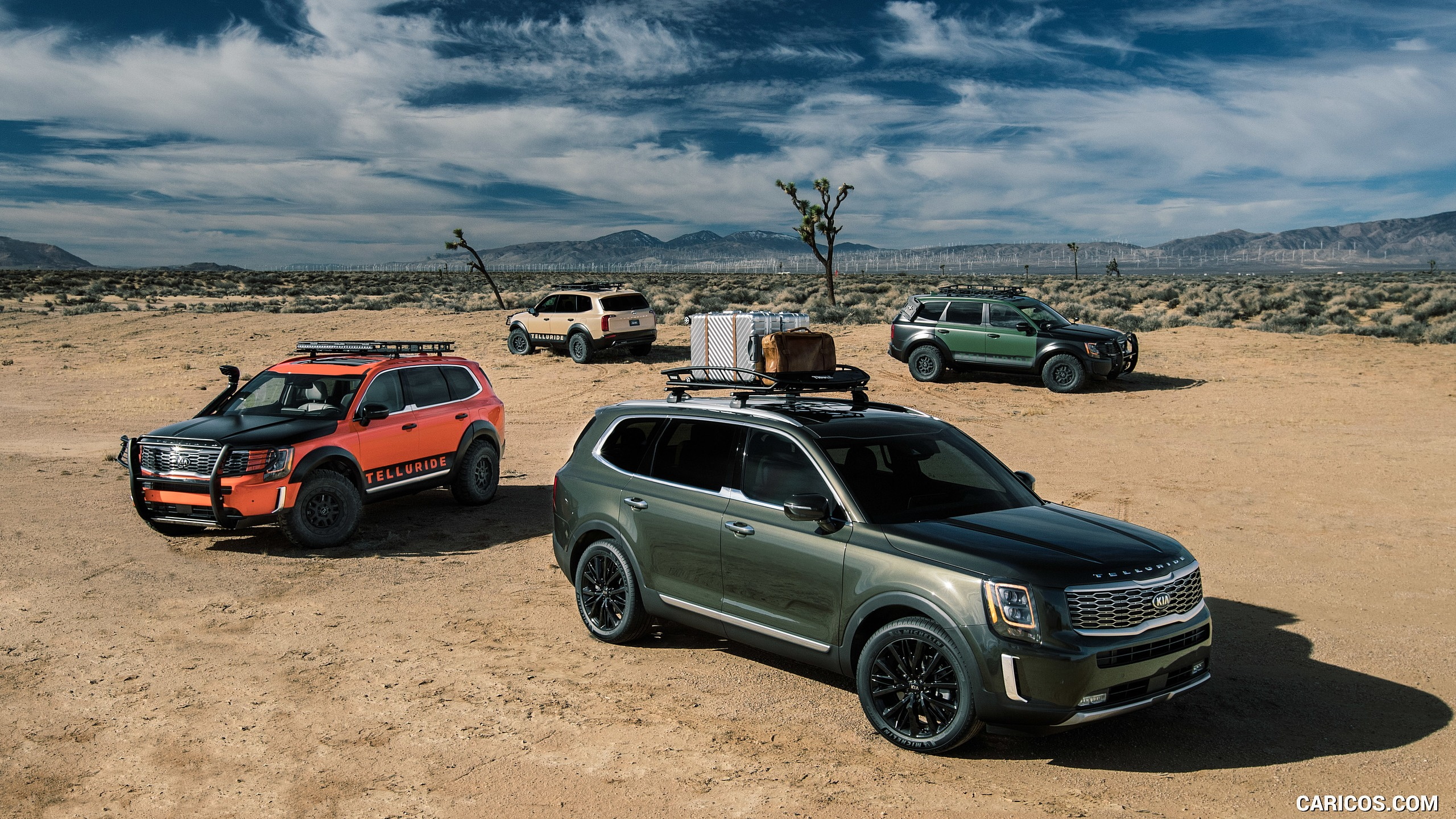 2020 Kia Telluride HD Wallpaper 7 2560x1440