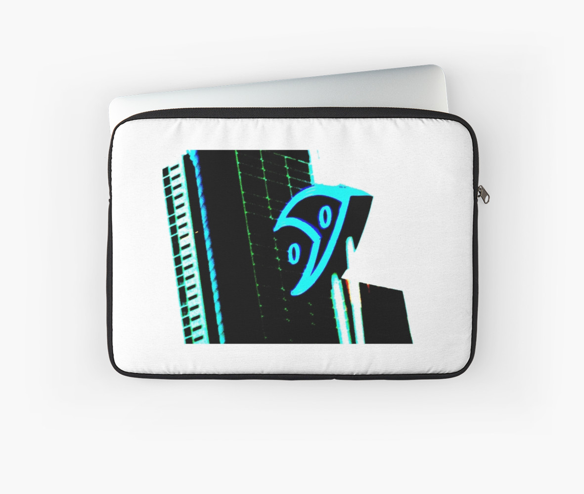 with buildings in background Laptop Sleeves by Jacqstar Redbubble 1181x999