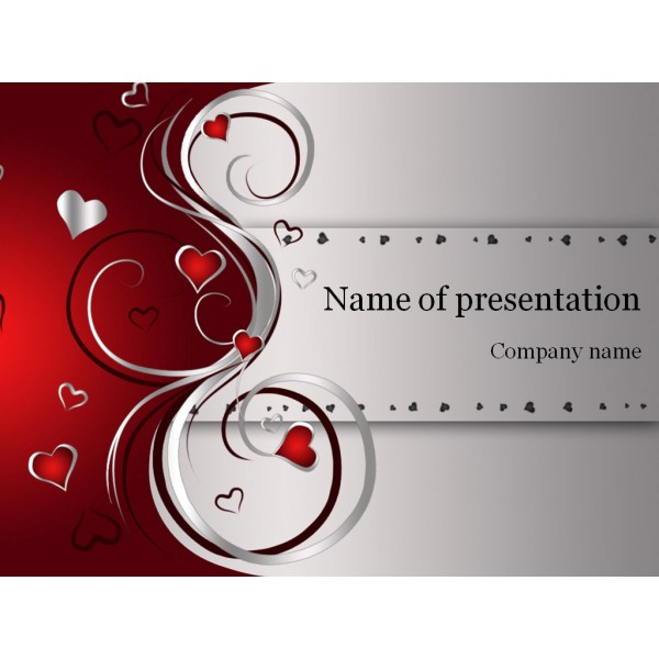 Free Download Valentines Day Powerpoint Template Background