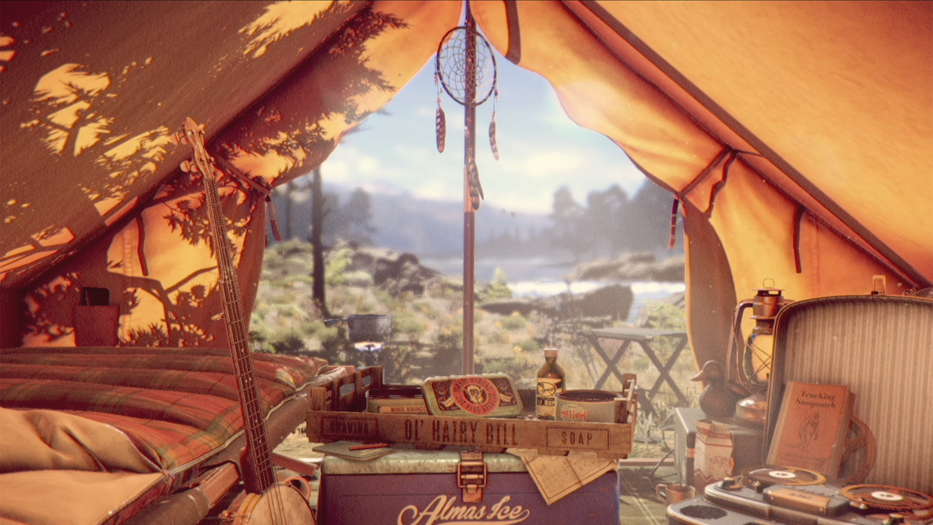 Thats You Camping Background AccidentalWesAnderson 1920x1080
