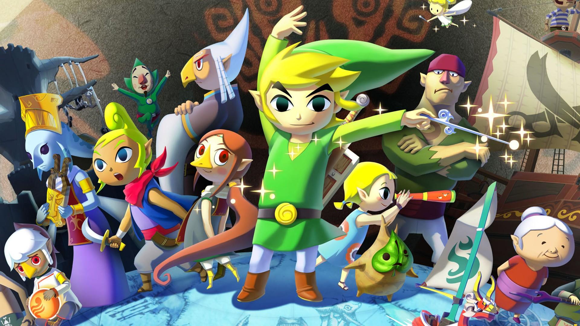 <b>Nintendo</b> images The Legend of Zelda: The <b>Wind Waker wallpaper</b> and ...