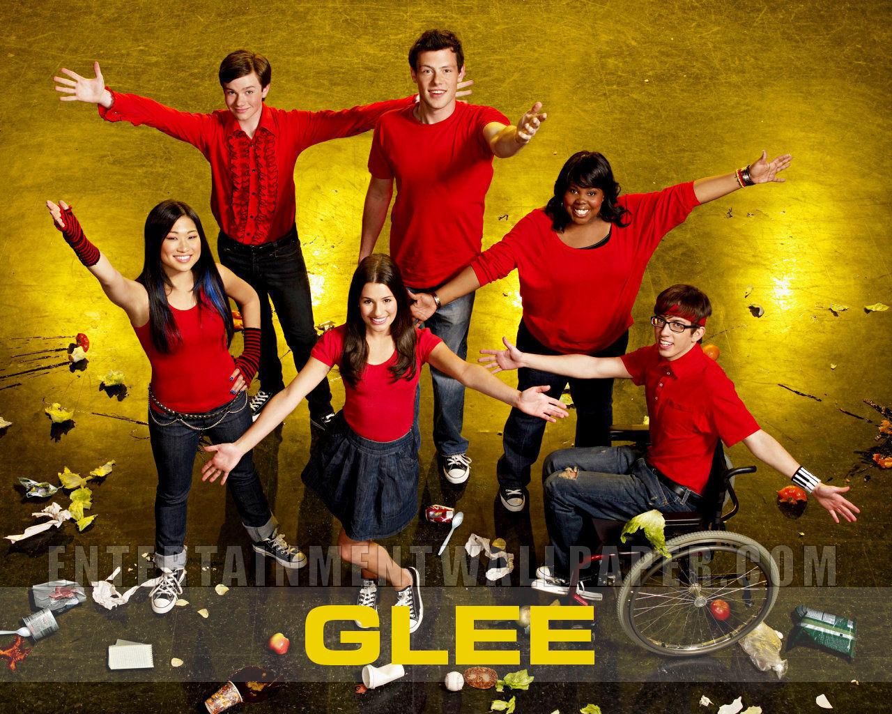 Glee Glee 1280x1024