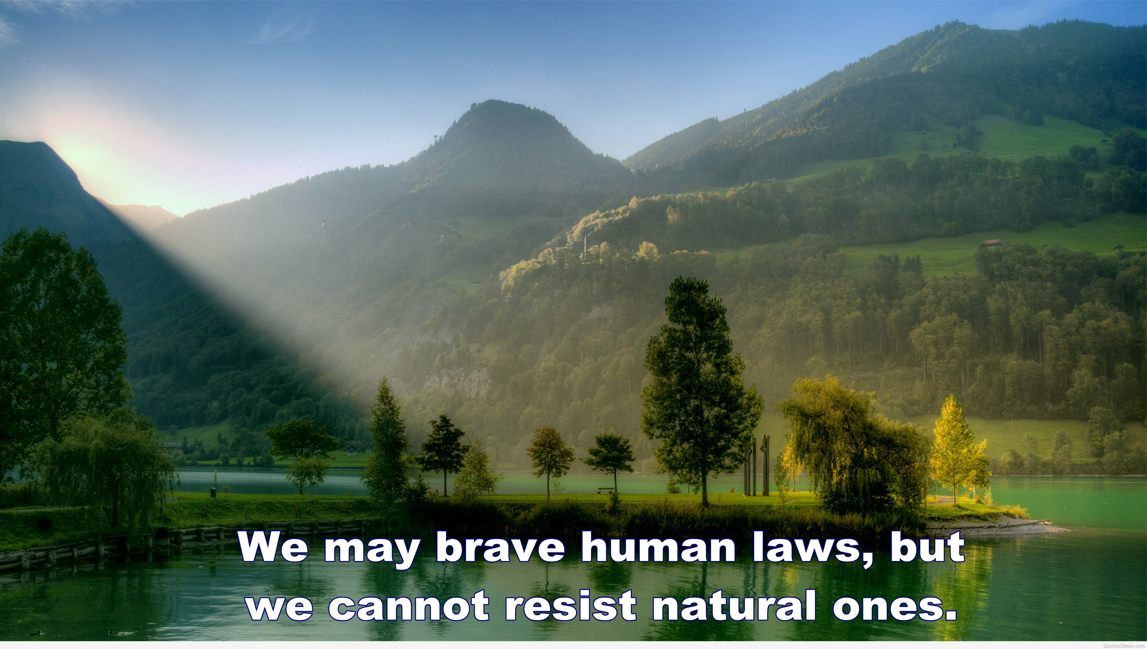 Nature Wallpaper With Quotes