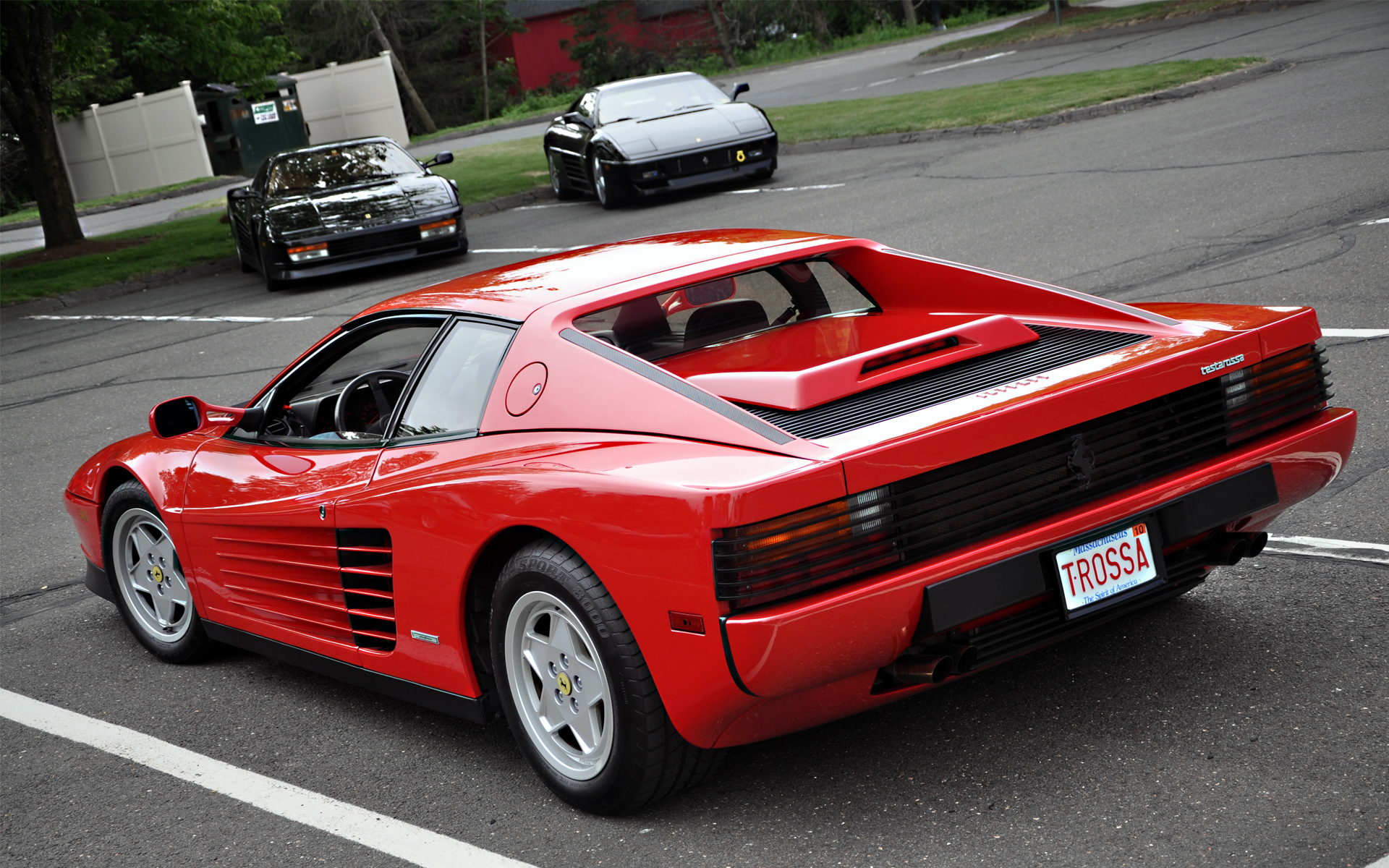 1985 ferrari testarossa wallpaper - photo #12
