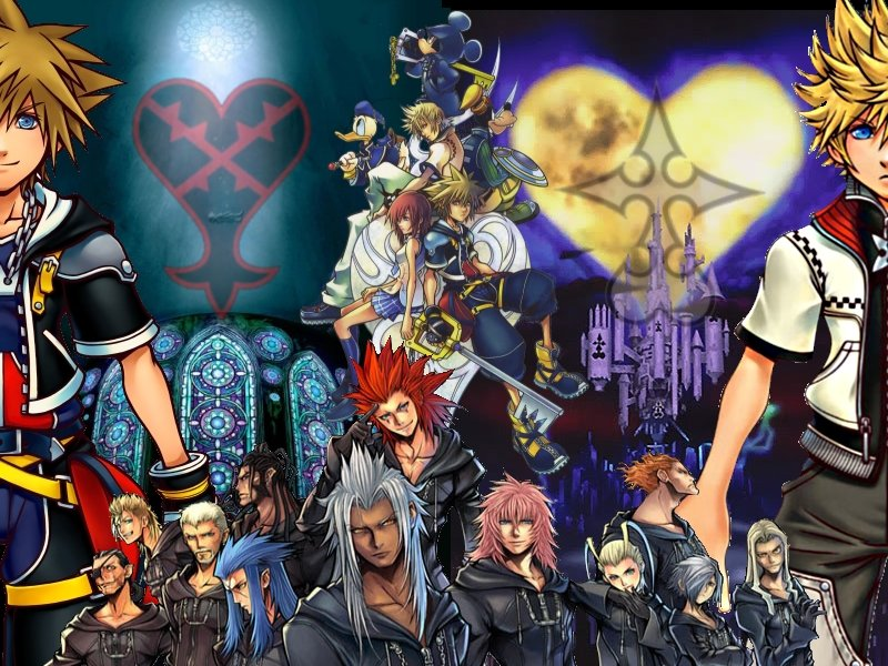 Wallpapers Kingdom Hearts 800x600