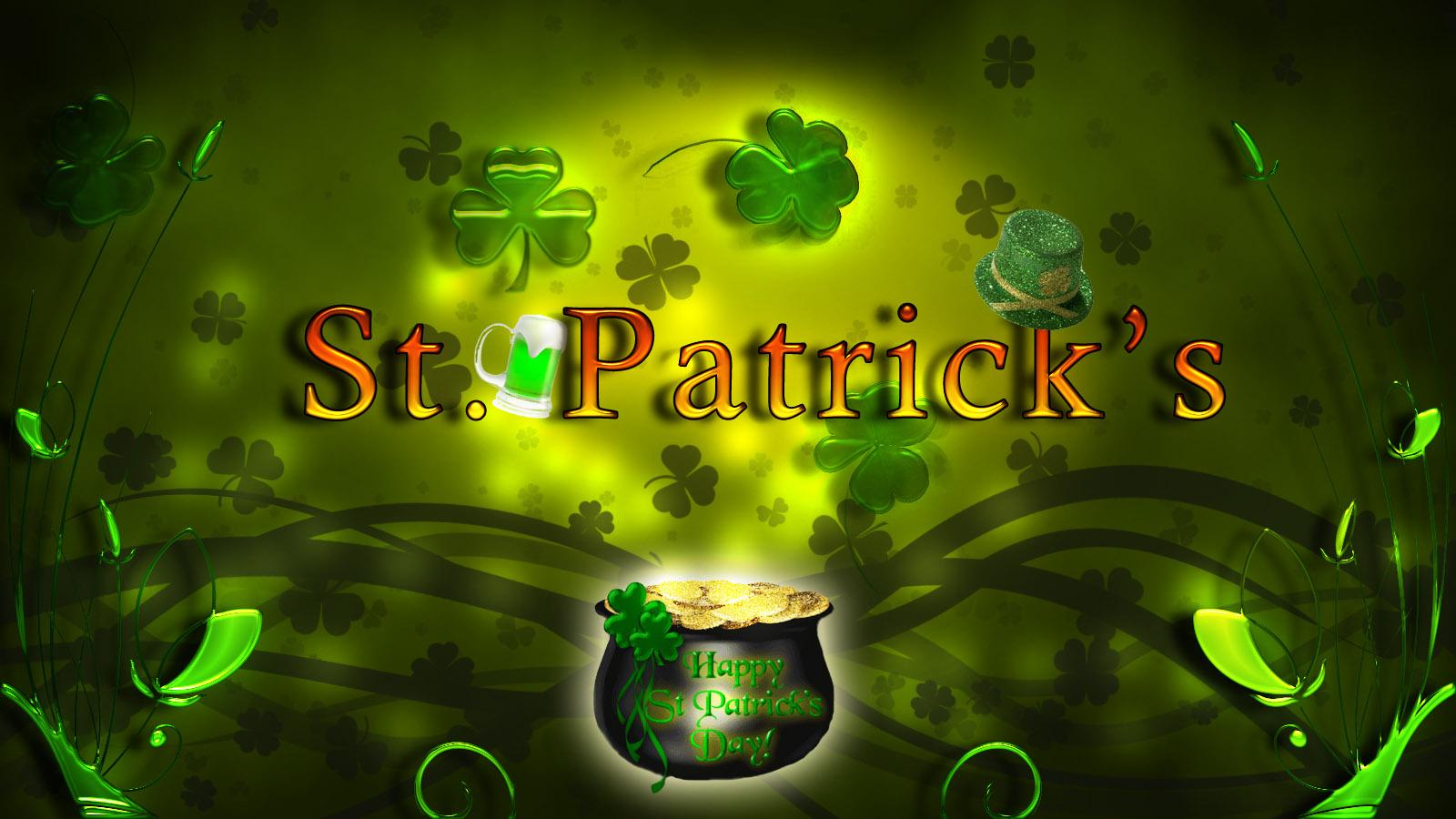 St Patricks Day 1600x900