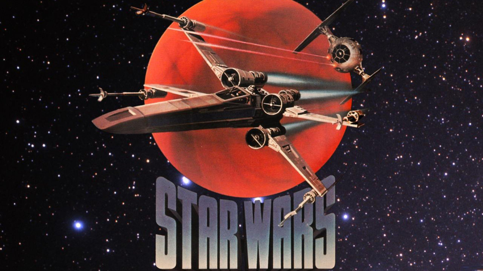 Star Wars outer space X Wing Tie Fighter wallpaper 1920x1080 1920x1080