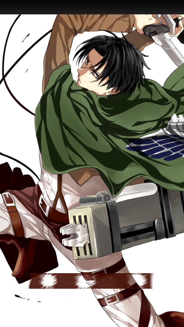 Attack On Titan Iphone Wallpaper Levi