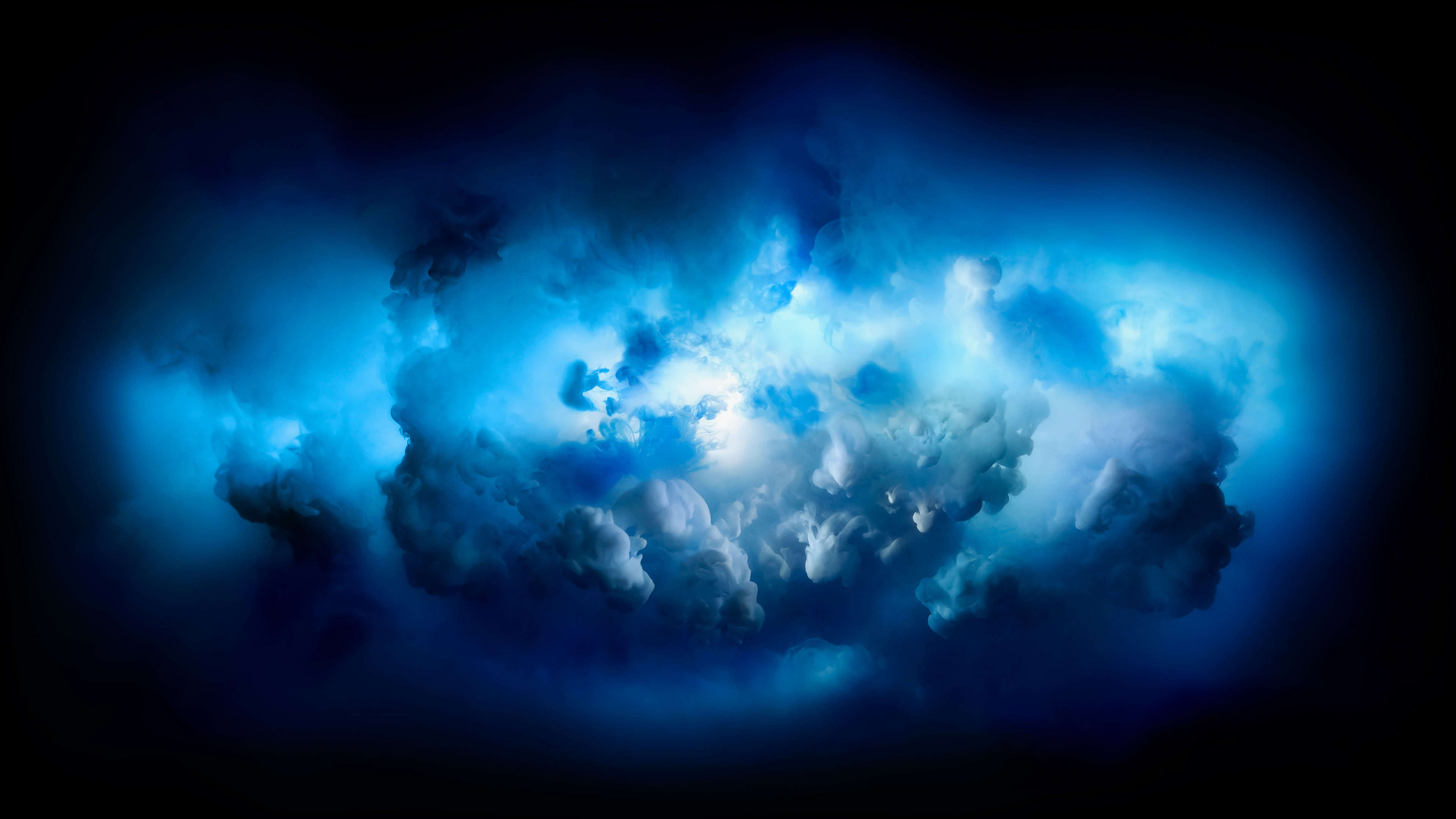Mac OSX Blue Clouds Background UHD 4K Wallpaper Pixelz 3840x2160