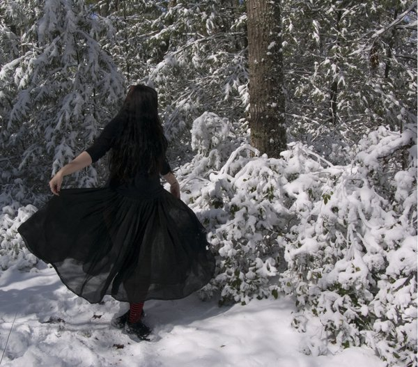 Winter Witch 3 by HauntingVisionsStock 600x527