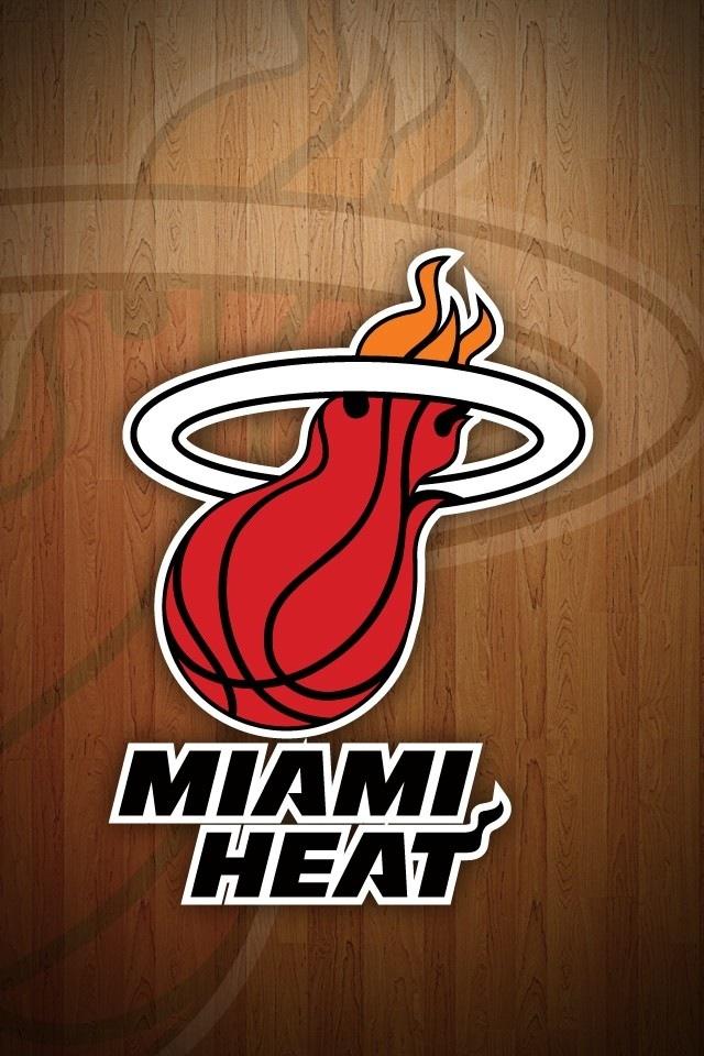 miami heat wallpaper logo wallpapersafari