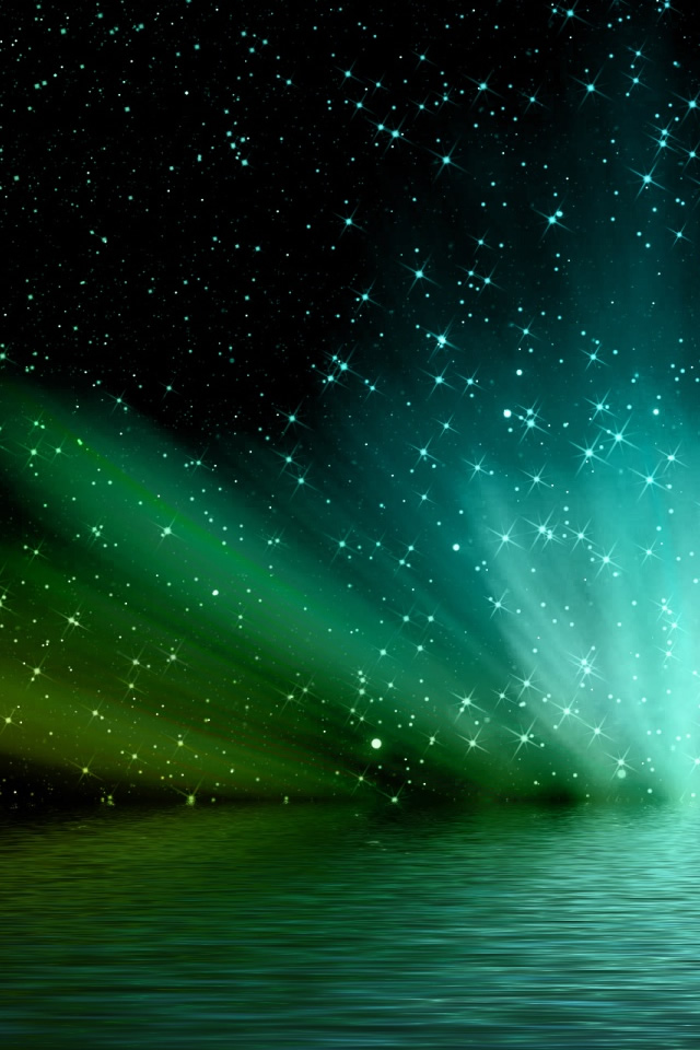 Aurora Borealis 2 iPhone Wallpaper Download iPad Wallpapers iPhone 640x960