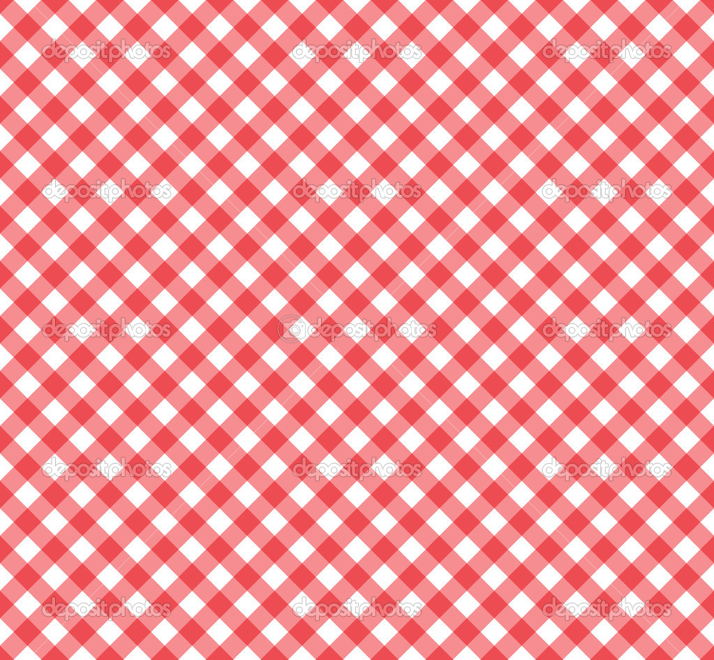 Red And White Patterned Wallpaper: Red And White Checkered Wallpaper