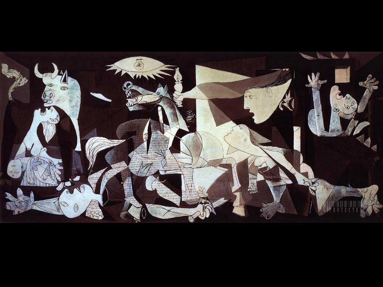Twisteds Wallpapers Guernica 1600x1200