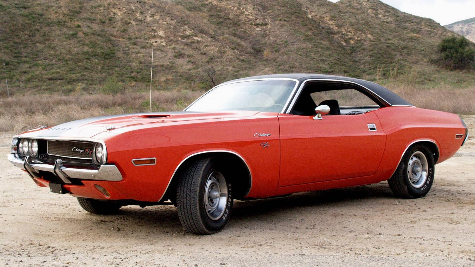 Widescreen vintage cars classic car dodge challenger wallpaper HQ 1600x900