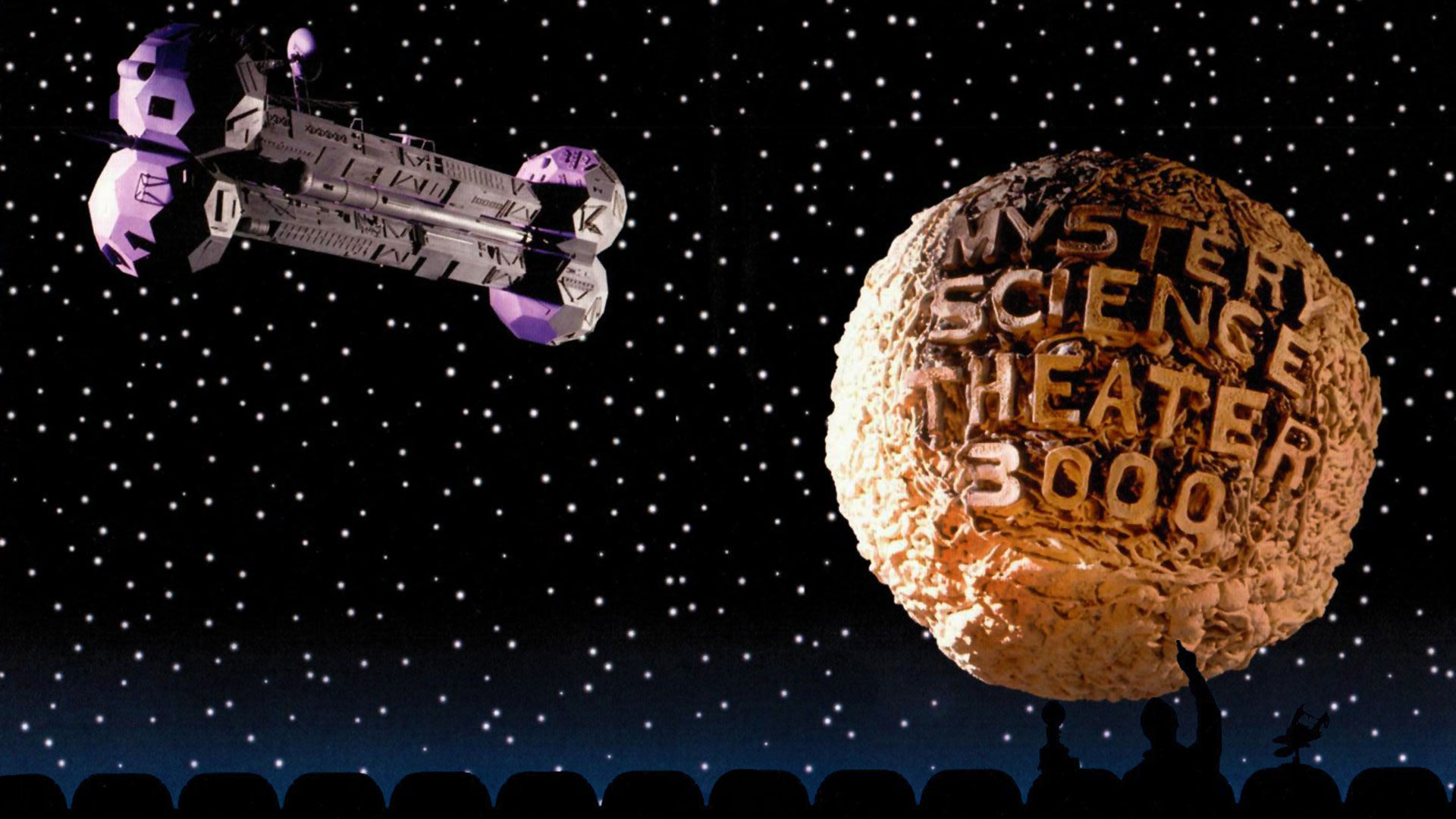 Cleaned up this MST3K image as a wallpaper thought Id share MST3K 1920x1080