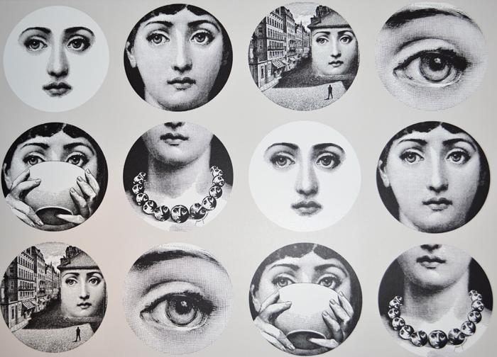 Fornasetti Wallpaper   blog   Sara Lowman Interiors 700x504