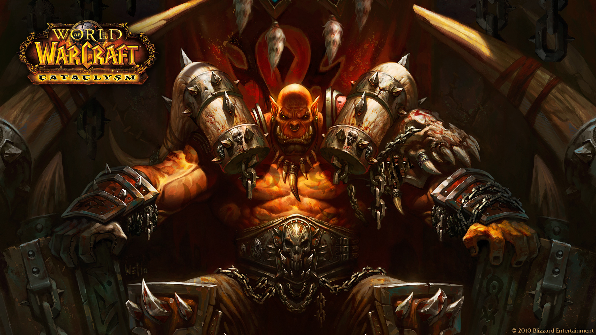 HD Wallpapers World of Warcraft III Cataclysm 1920x1080