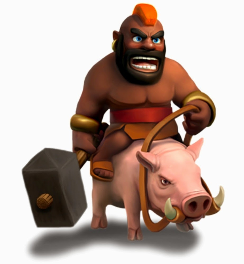Clash of Clans Hogrider Clash of Clans Wallpaper 923x997