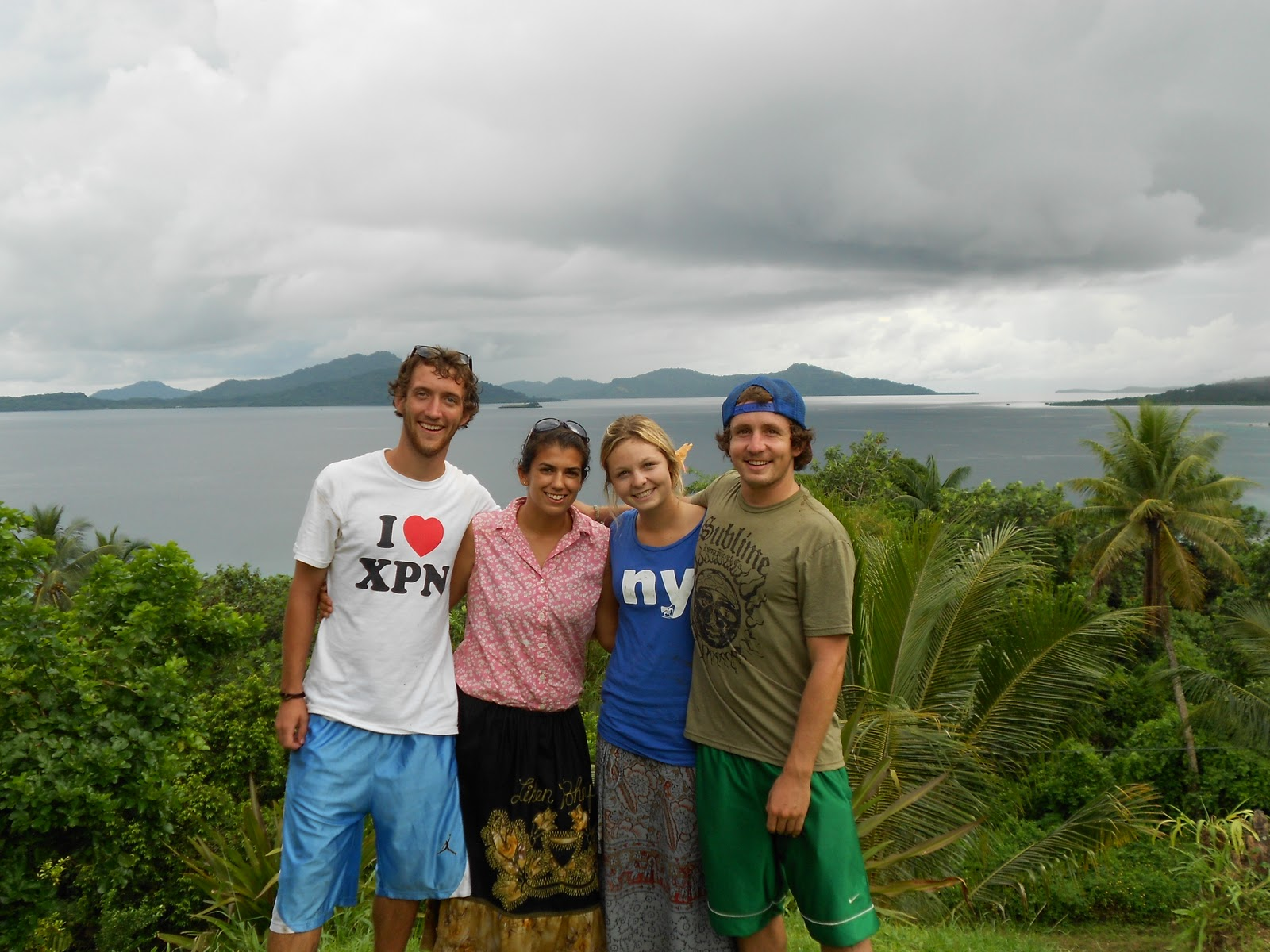 Johnnys Peace Corps Experience Jenna Dan Farrah and me at 1600x1200