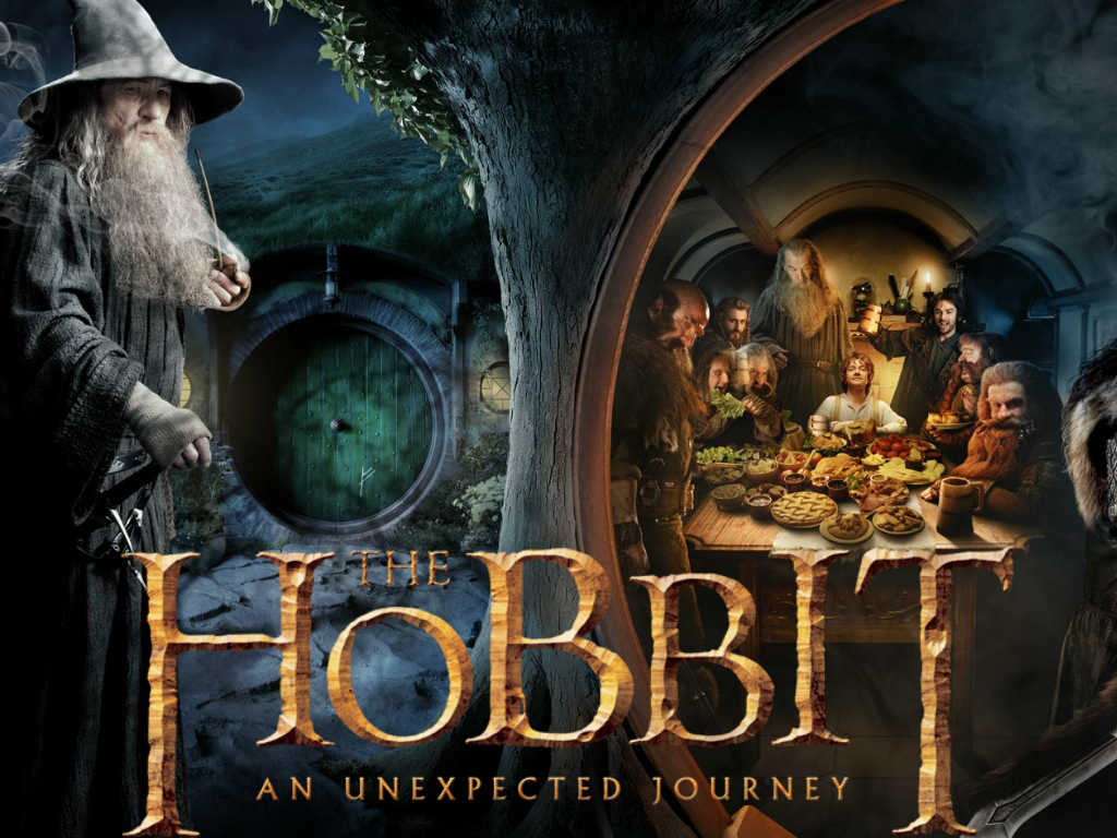 The Hobbit wallpaper 1024x768