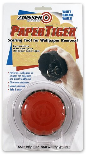 Wallpaper remover Zinsser 2966 PaperTiger Scoring Tool for Wallpaper 277x500