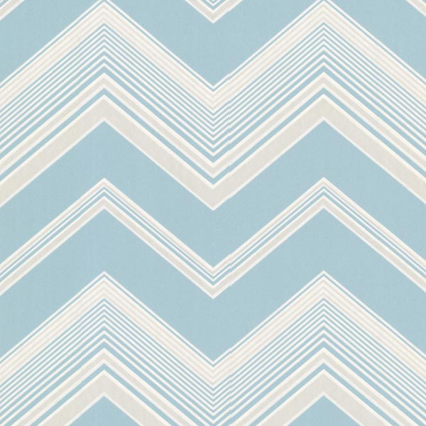 Blue Zig Zag Wallpaper   Bearden   Elements Wallpaper By Decorline 600x600