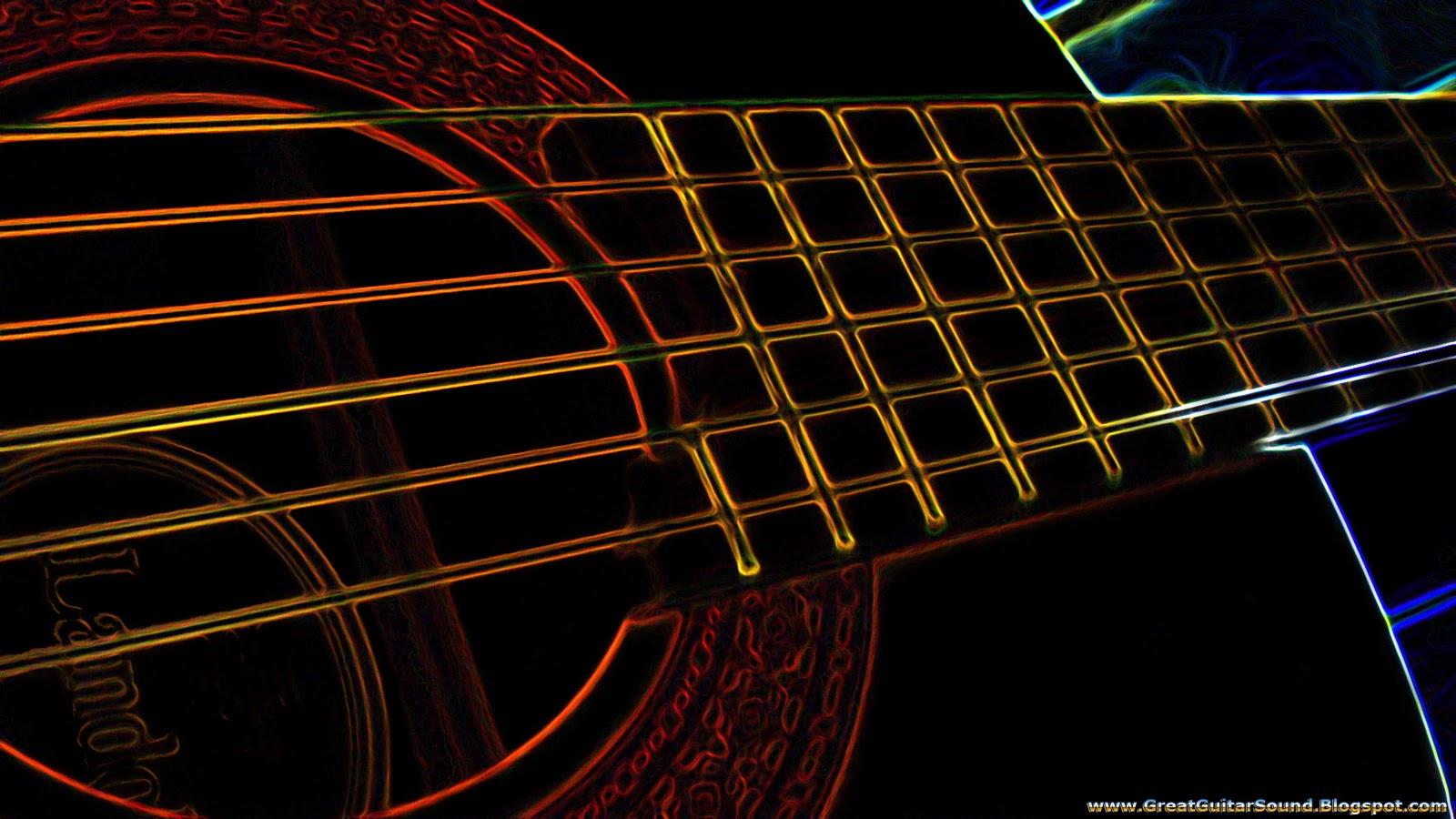 Wallpaper   Landola C 55 Classical Guitar Glowing Background HD Music 1600x900
