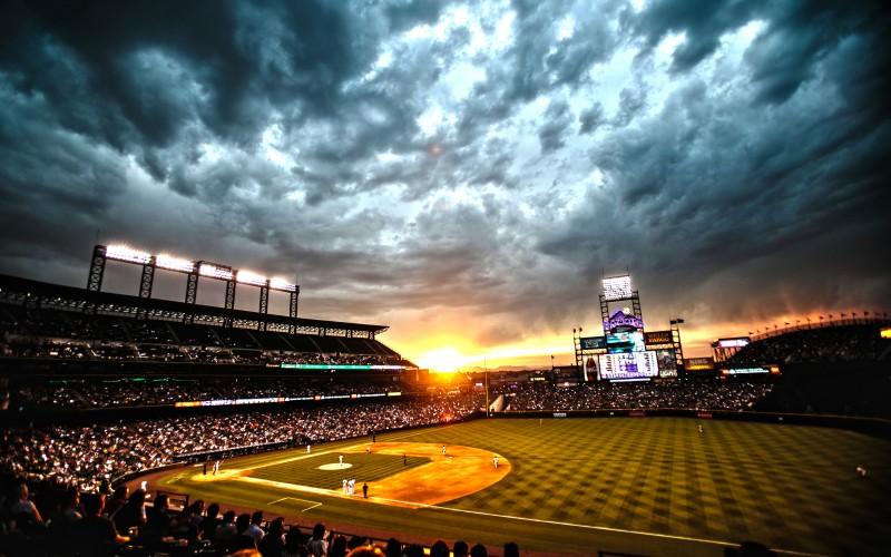 Name Colorado Rockies ballpark Coors Field Denver Colorado Wallpaper 800x500